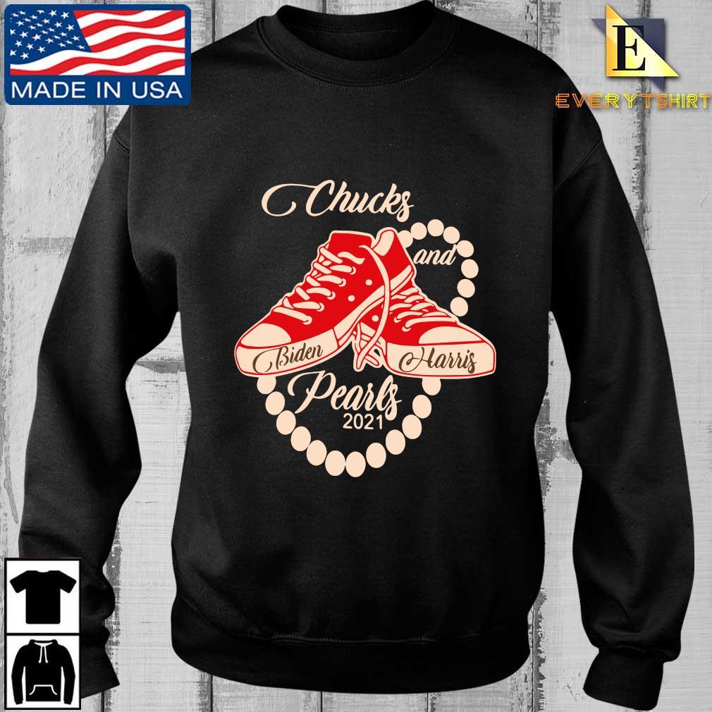 Chucks and Pearls Joe Biden and Kamala Harris 2021 shirt