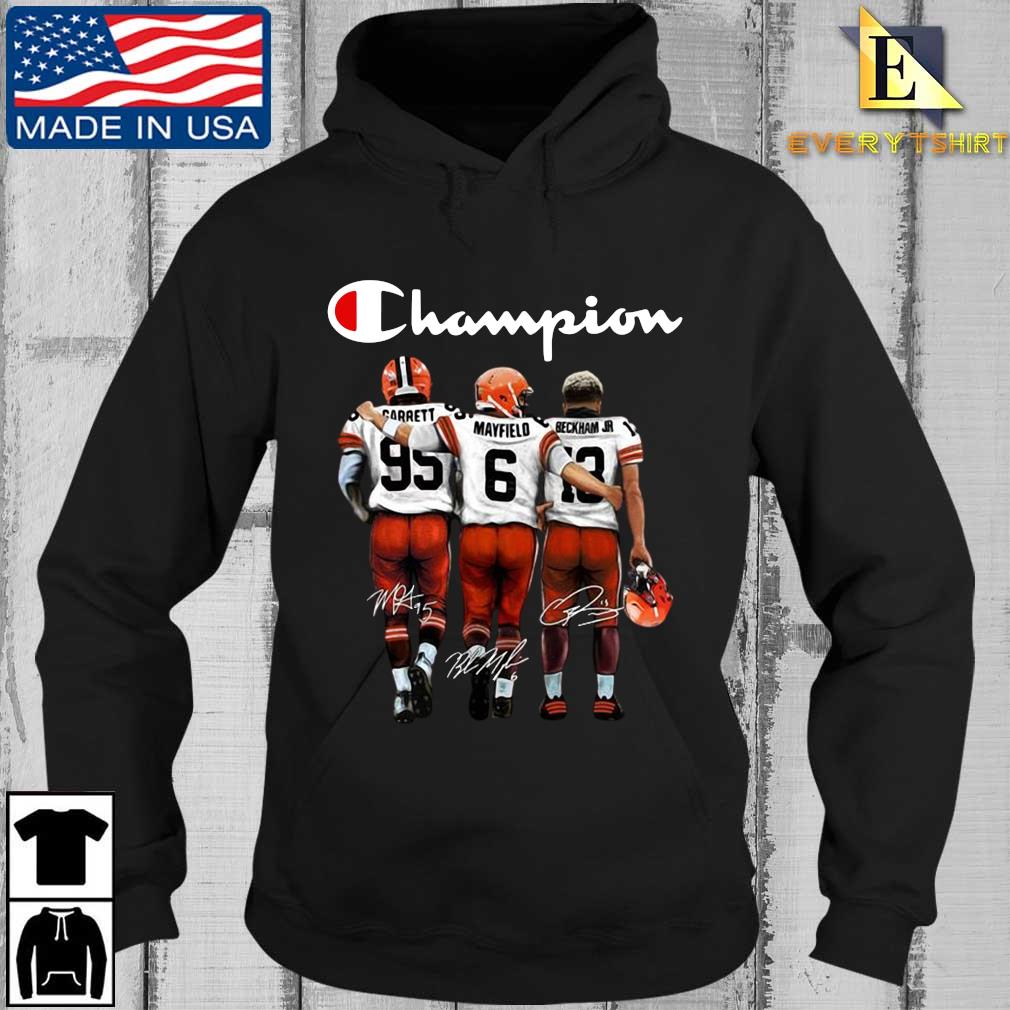 Cleveland Browns Champion Carrett Mayfield Beckham Jr sweats Every Hoodie den
