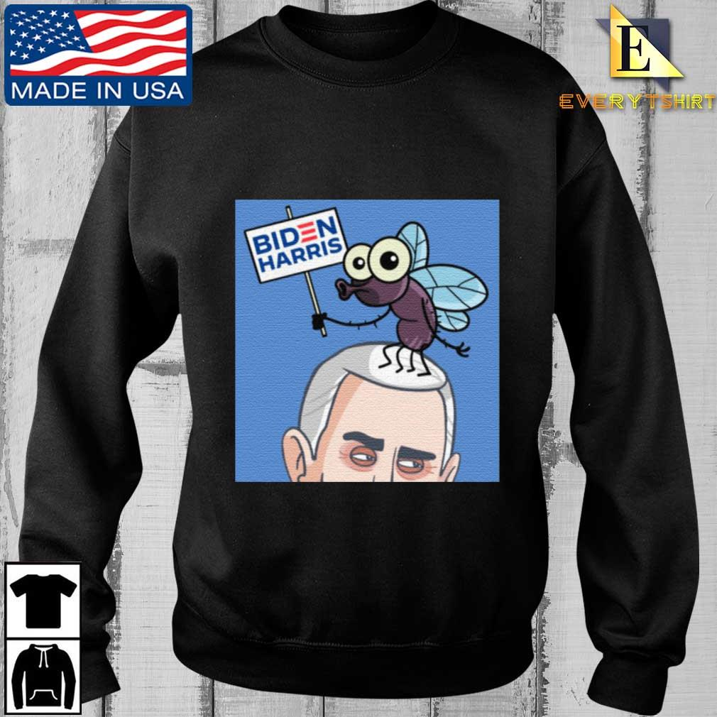 Fly On Mike Pence Head Biden Harris T-Shirt