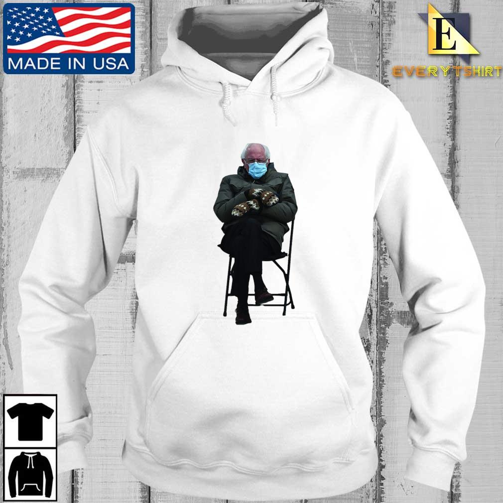 Funny Bernie Sanders Sitting In Chair Inauguration Meme Shirt Every hoodie trang