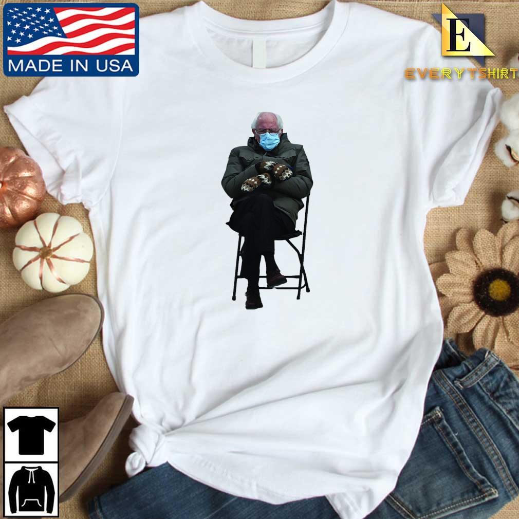 Funny Bernie Sanders Sitting In Chair Inauguration Meme Shirt Every shirt trang dai dien