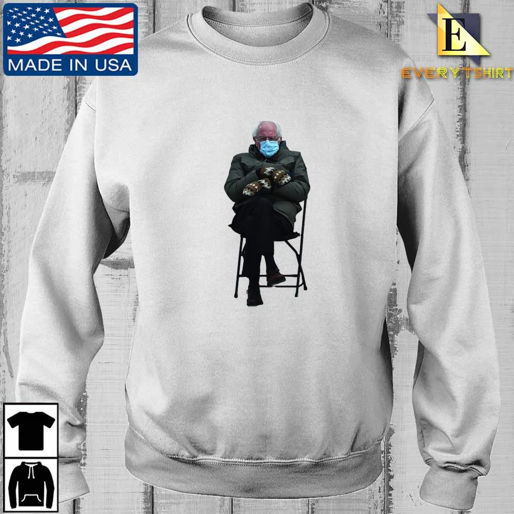 Funny Bernie Sanders Sitting In Chair Inauguration Meme Shirt