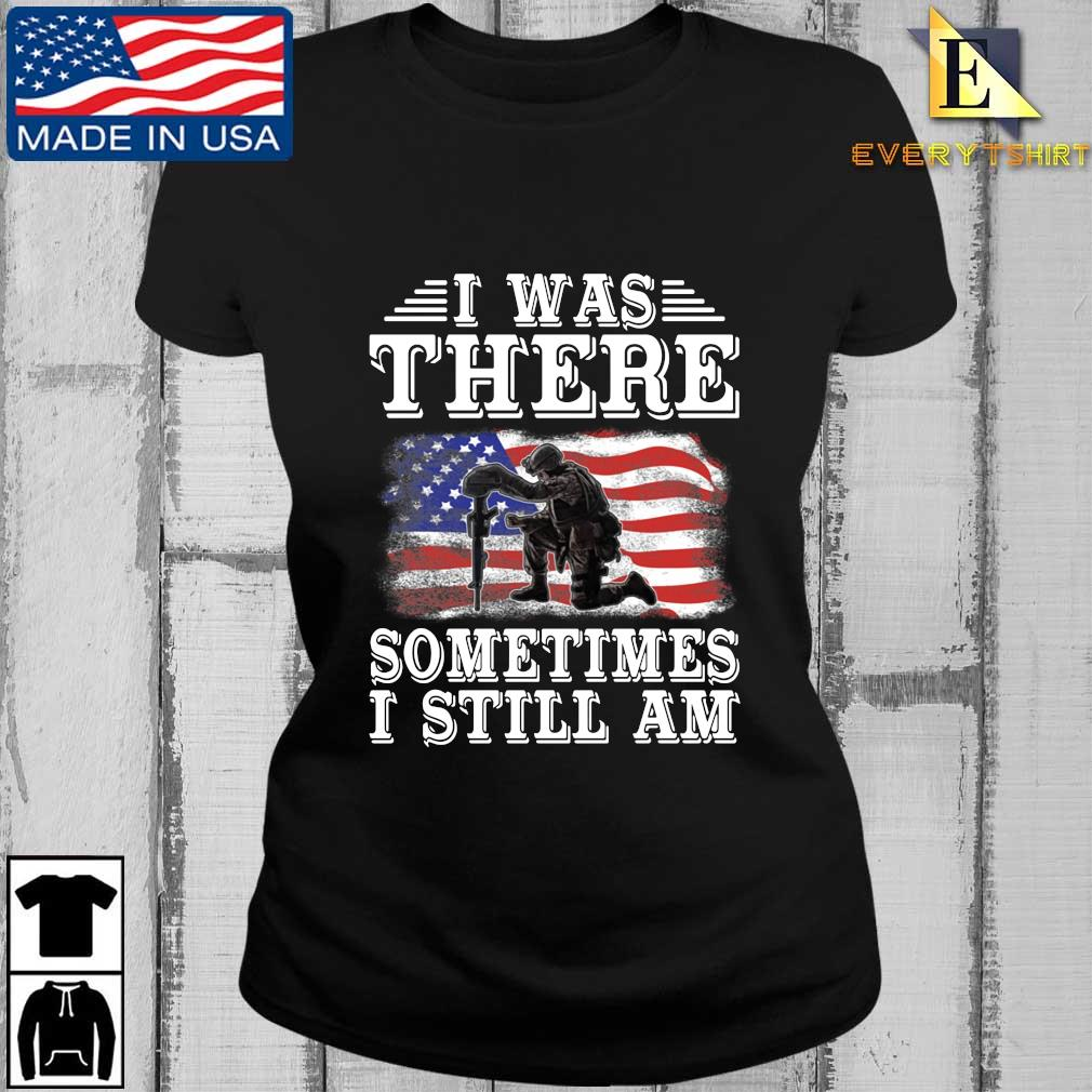 I was there something I still am American flag s Every ladies den