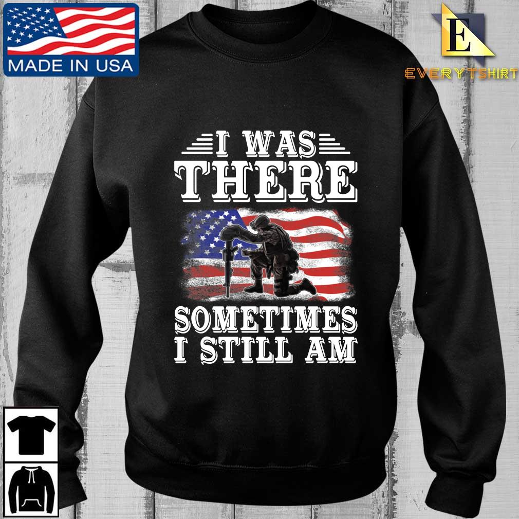 I was there something I still am American flag s Every sweater den