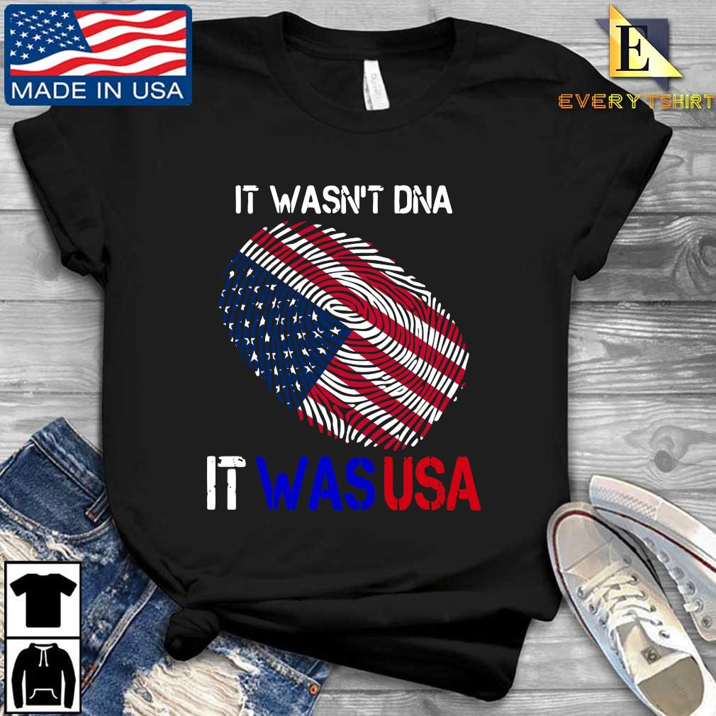 It wasn't Dna it was fingerprints US Trump shirt