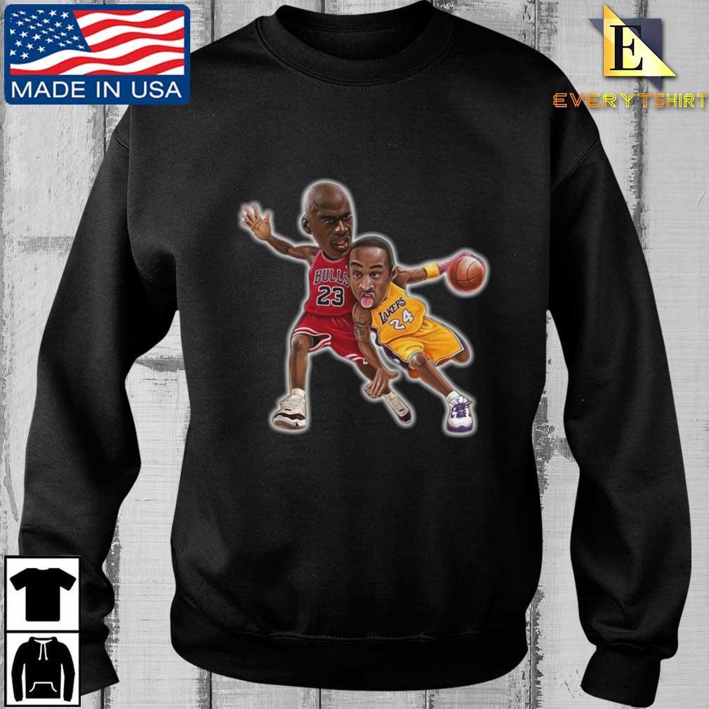 Lebra James and Kobe Bryant shirt