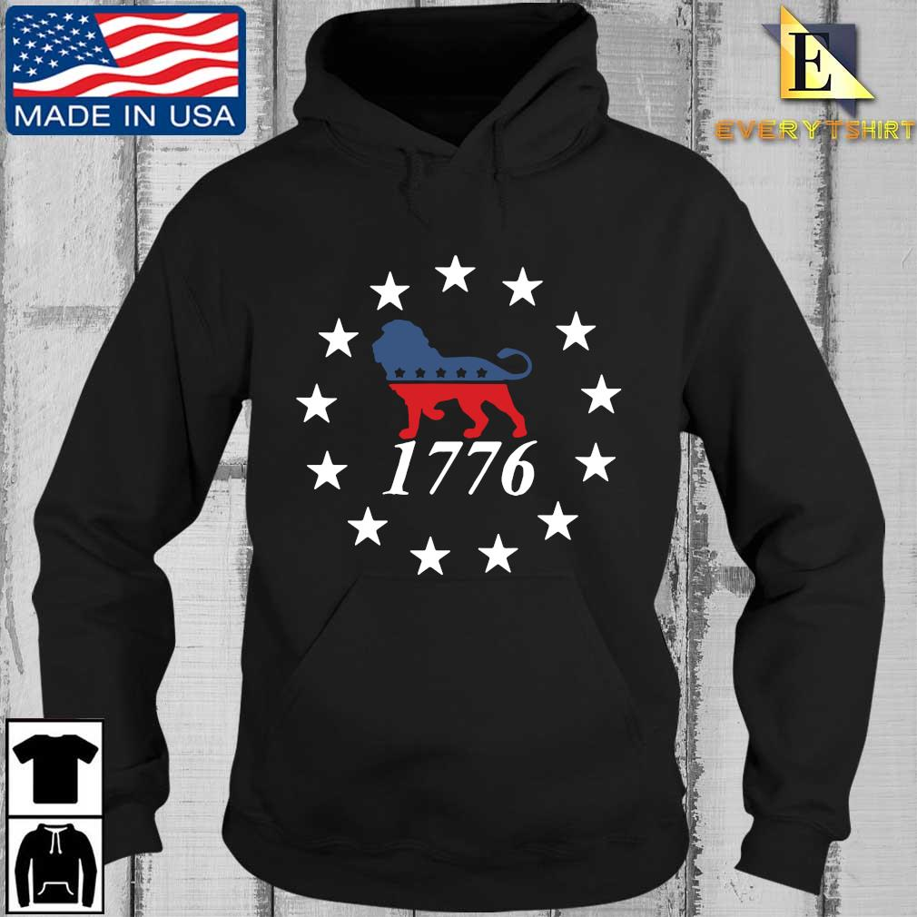 Lion the patriot party 1776 s Every Hoodie den