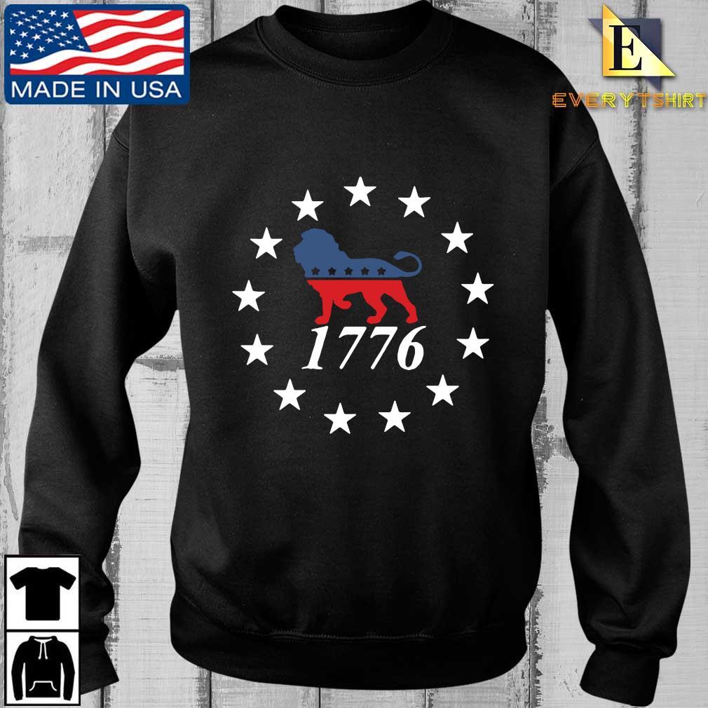 Lion the patriot party 1776 Sweatshirt