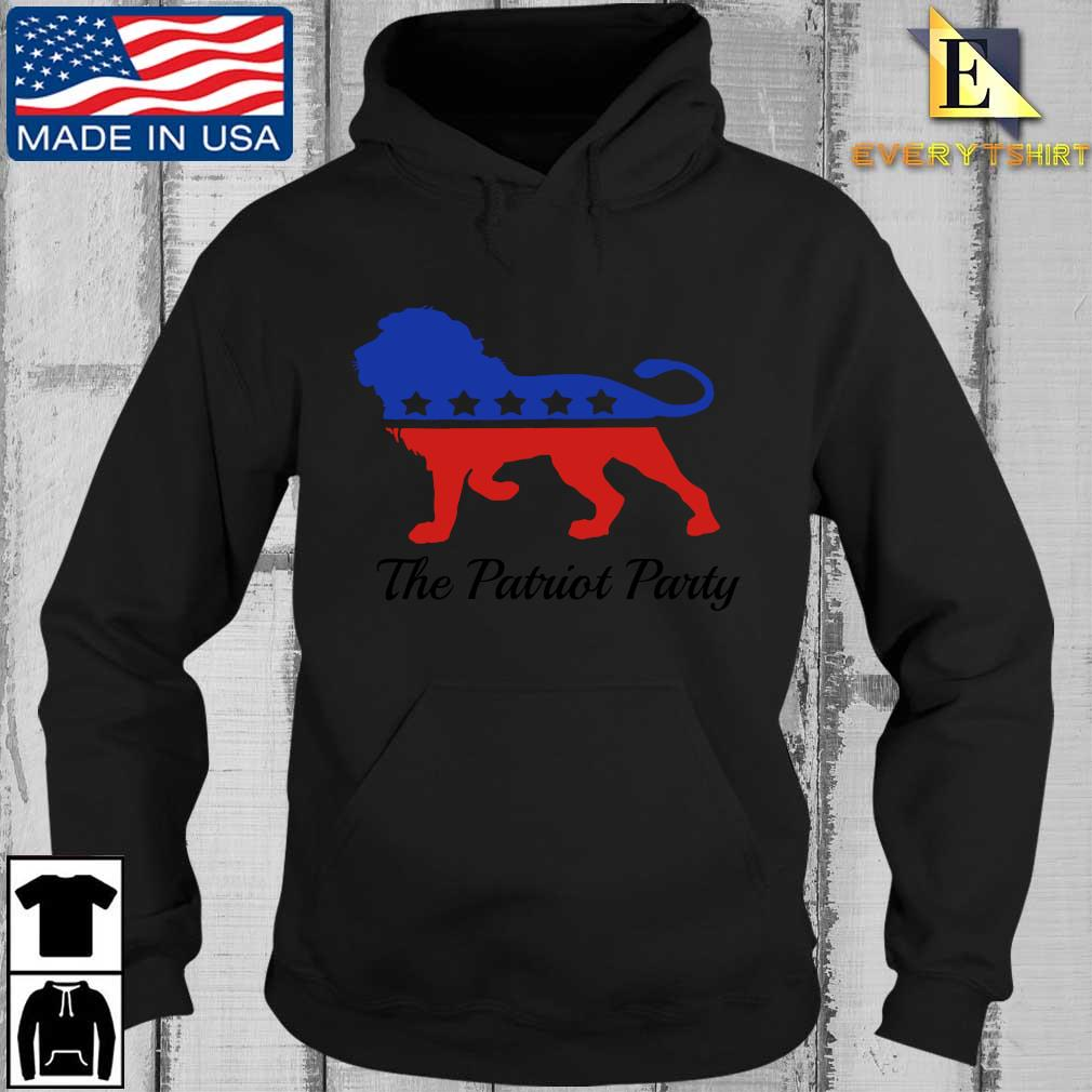 Lion the patriot party s Every Hoodie den