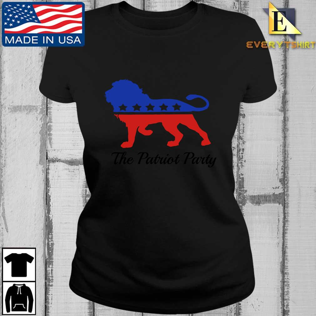 Lion the patriot party s Every ladies den