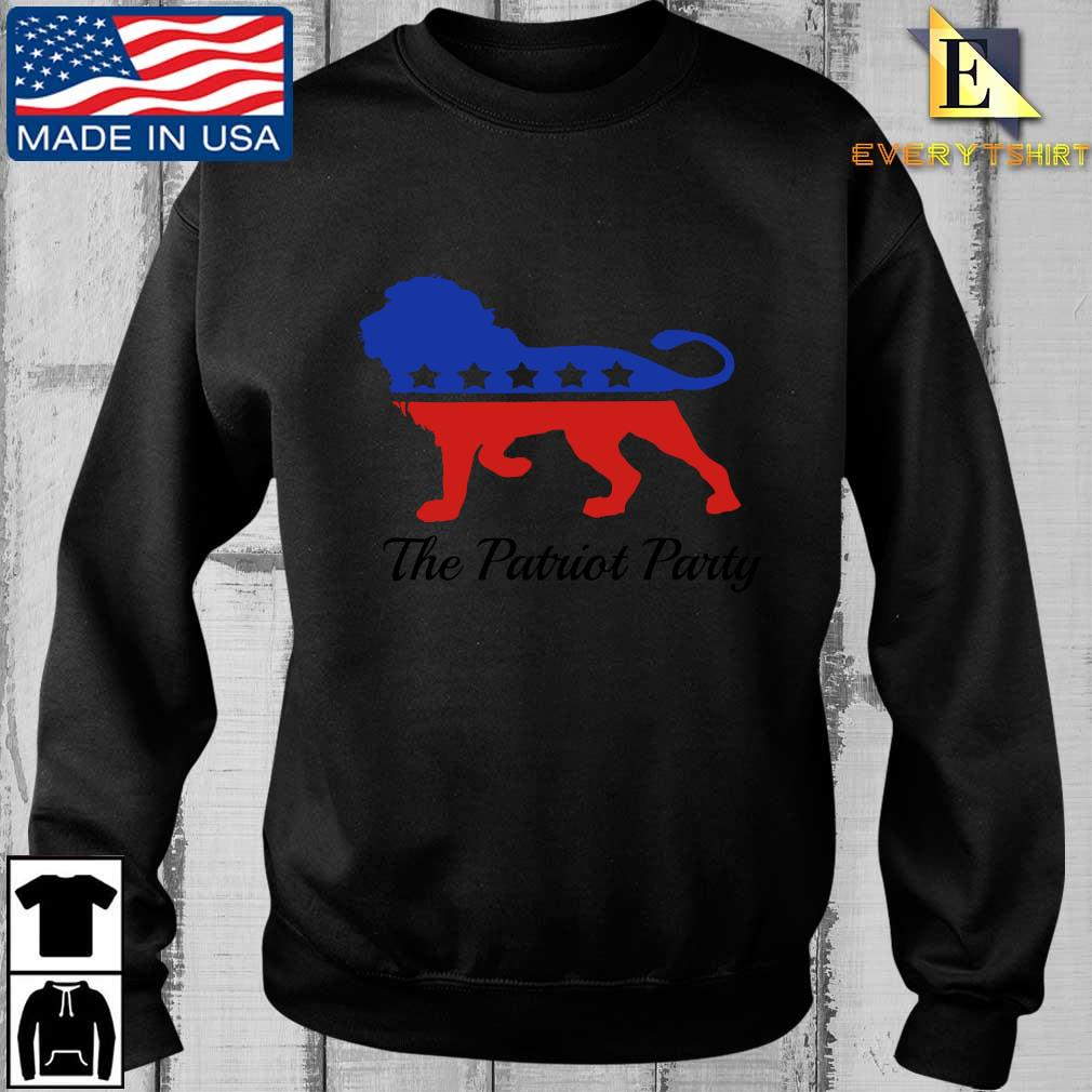 Lion the patriot party shirt