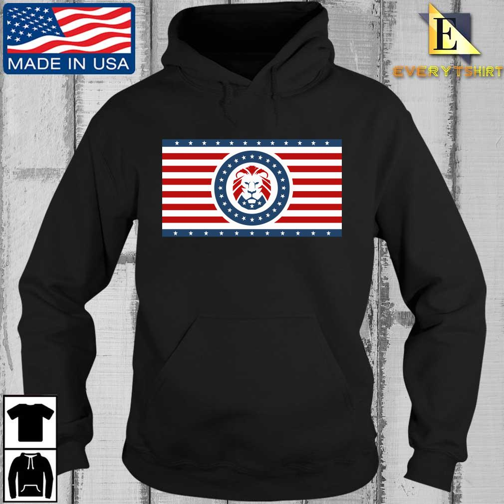 Maga Lion flag Patriot party flag sweats Every Hoodie den
