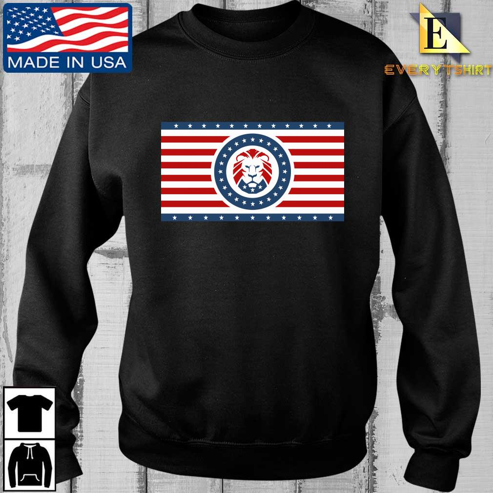 Maga Lion flag Patriot party flag sweatshirt