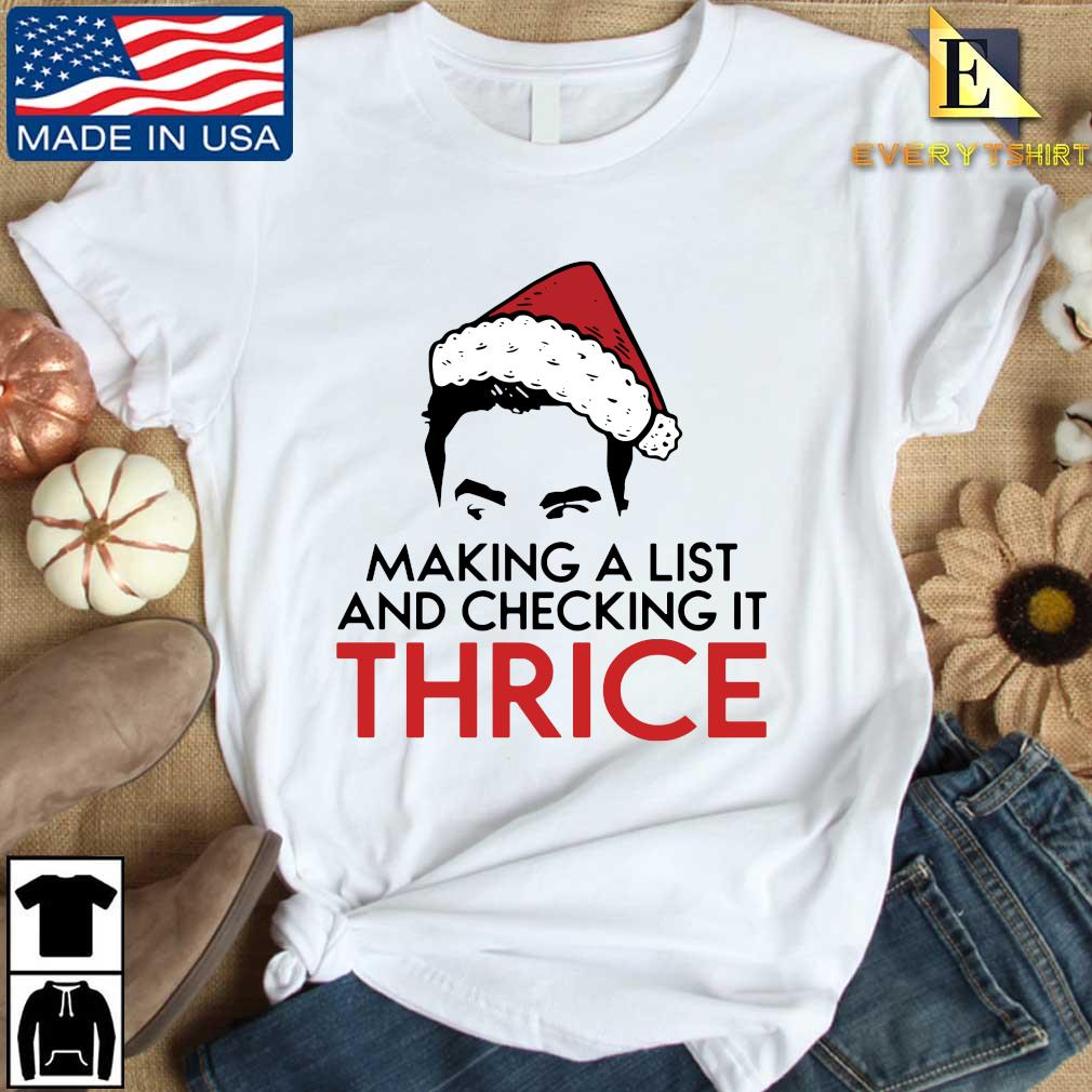 making a list and checking it twice Christmas sweater Every shirt trang dai dien