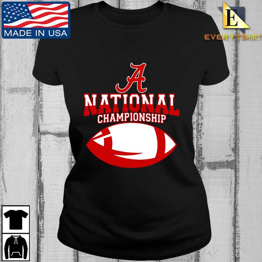 Official Alabama Crimson Tide national Championship s Every ladies den