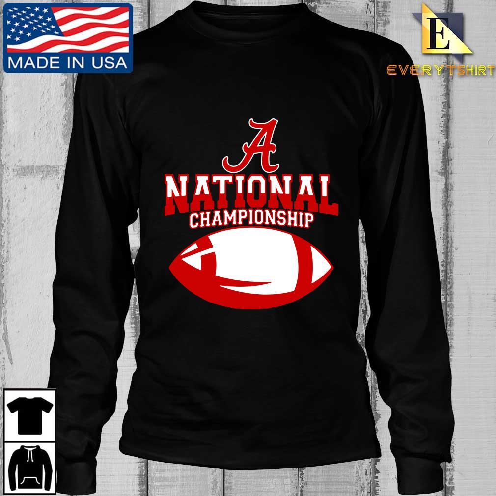 Official Alabama Crimson Tide national Championship s Longsleeve Every den