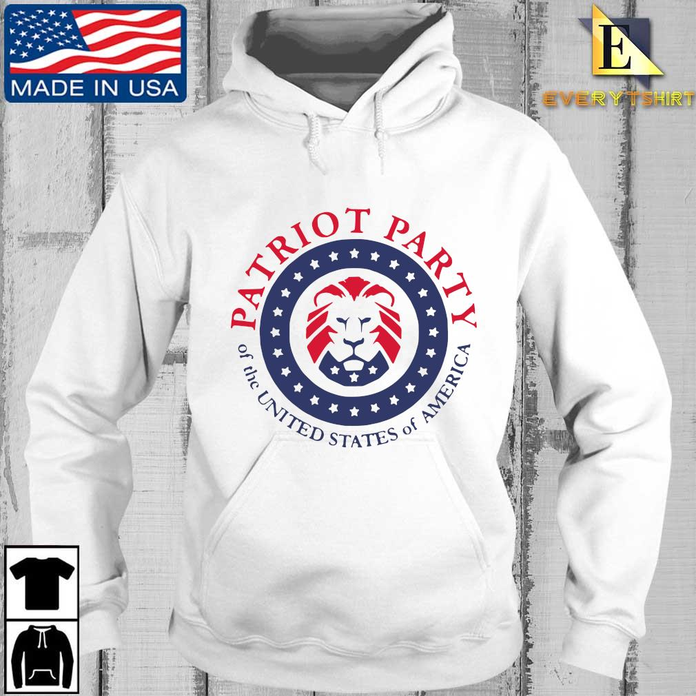 Patriot party of the united states of America shirt, hoodie Every hoodie trang