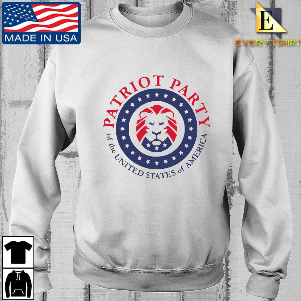 Patriot party of the united states of America shirt, hoodie