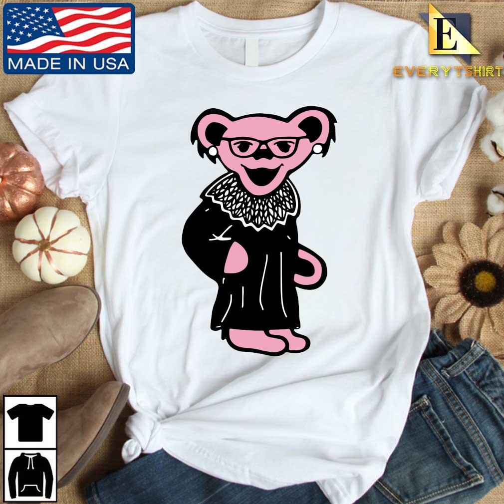 Ruth Bader Ginsburg Grateful Dead Bear RBG shirt