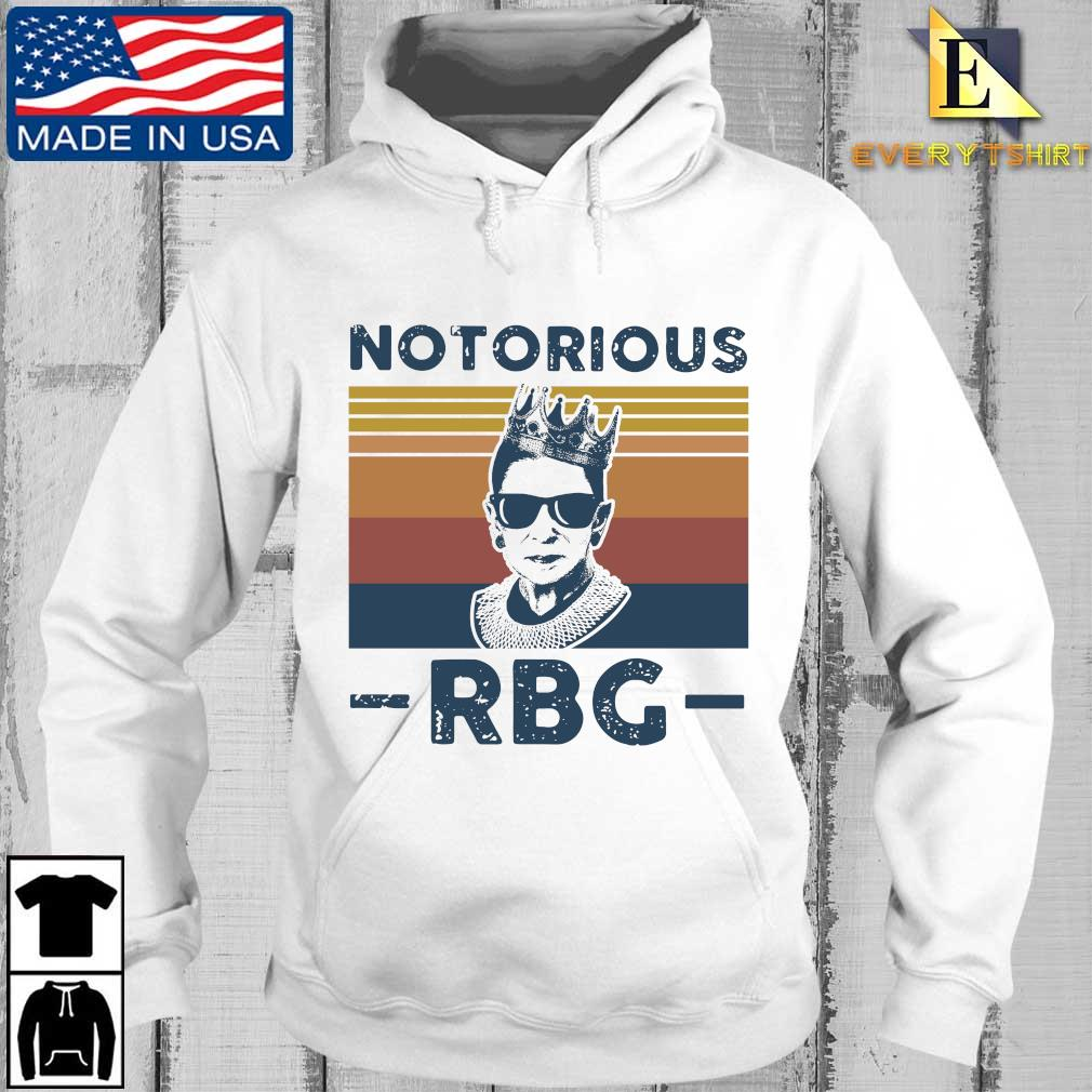 Ruth Bader Ginsburg notorious RBG crown vintage s Every hoodie trang