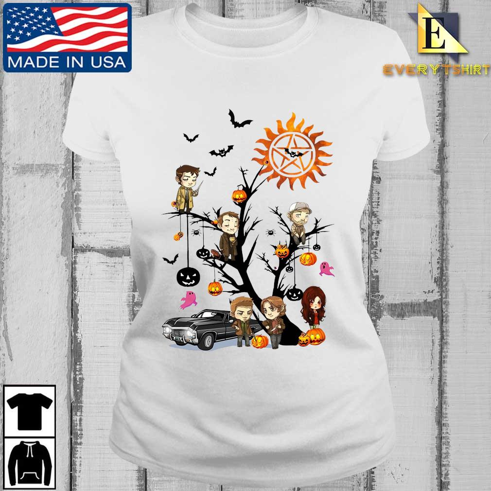 Supernatural chibi character on tree halloween s Every ladies trang