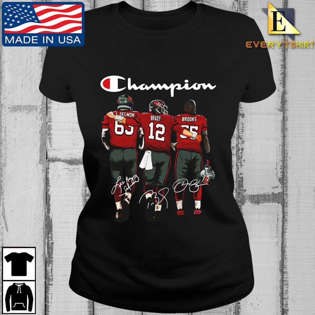 Tampa Bay Buccaneers Champion Selmon Brady Brooks signatures s Every ladies den