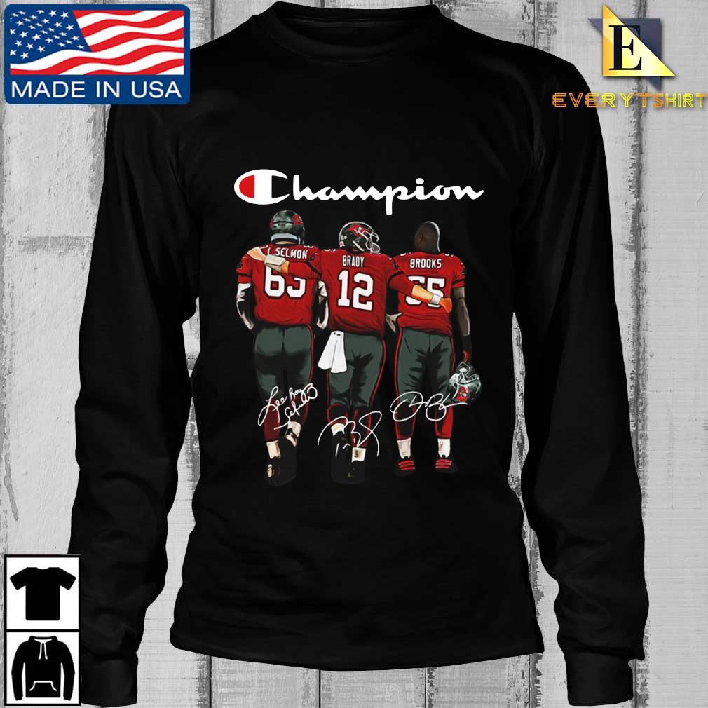 Tampa Bay Buccaneers Champion Selmon Brady Brooks signatures s Longsleeve Every den