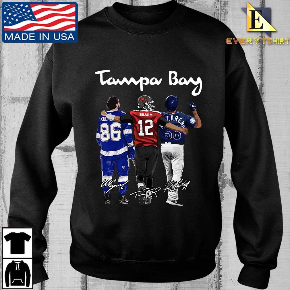 Tampa Bay Nikita Kucherov Tom Brady Mvp signatures shirt, hoodie