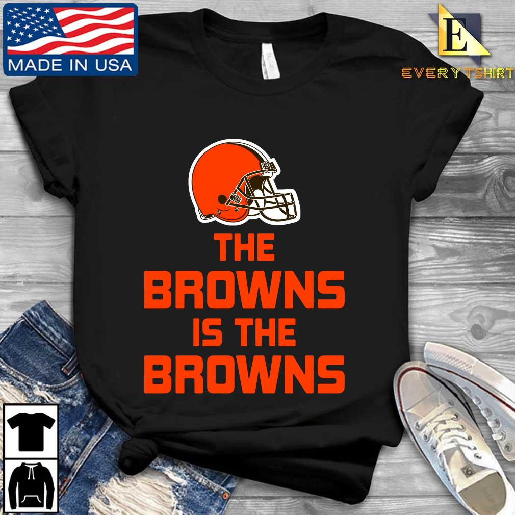The Cleveland Browns is the Browns t-s Every shirt den dai dien