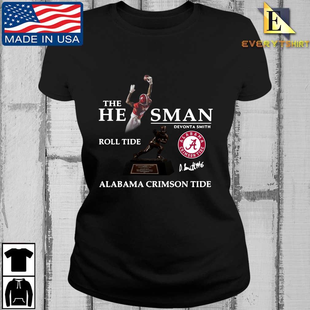 The he man Devonta Smith roll tide Alabama Crimson Tide signature s Every ladies den