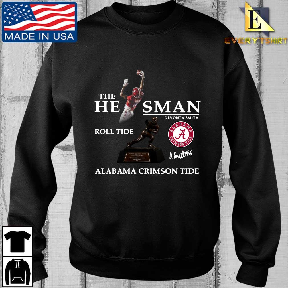 The he man Devonta Smith roll tide Alabama Crimson Tide signature shirt