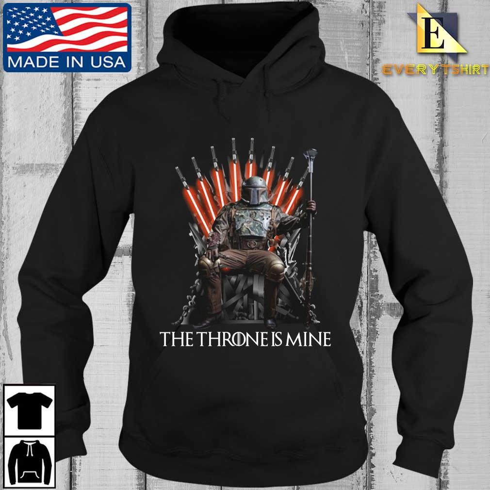 The Mandalorian the throne is mine t-s Every Hoodie den